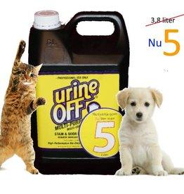Urine Off - Multi Purpose - UrineOff urine-geur en vlekkenverwijderaar hond en kat 5 liter
