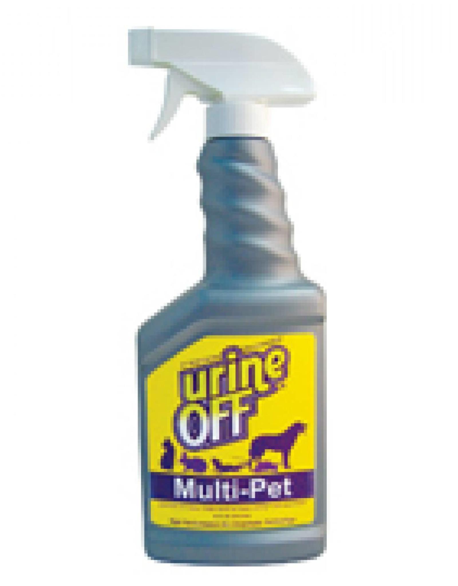 UrineOff Multi-Purpose Reiniger karaf Sprayflacon. Doos: 12 x 1 Liter.