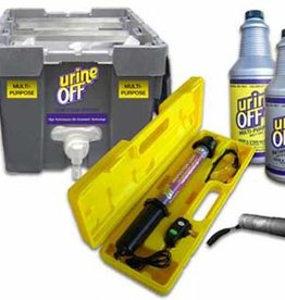 Urine Off - Tapijtreiniger - Bag in crate system
