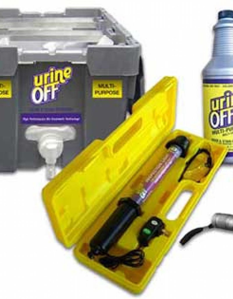 Urine Off - Tapijtreiniger - Zak in krat systeem 19 liter