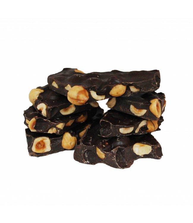 SUGARFREE CHOCOLATE WITH HAZELNUTS