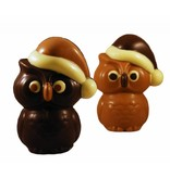 CHOCOLATE CHRISTMAS OWL