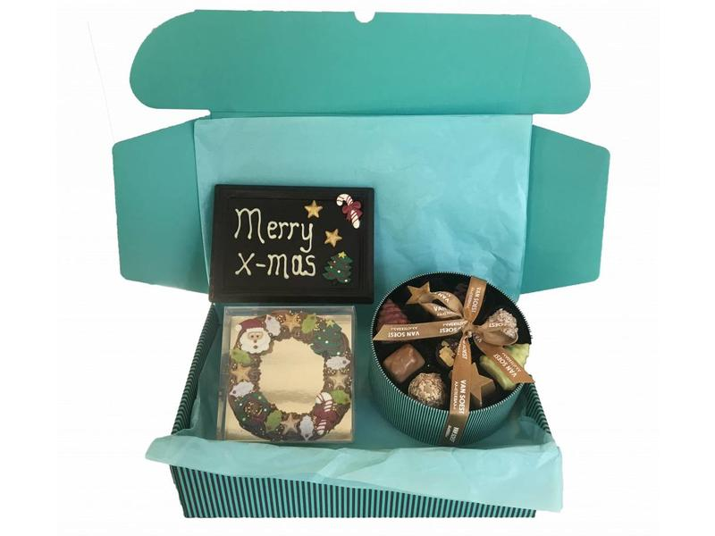Chocolade Christmas box