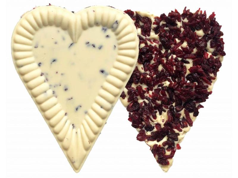 HEART WITH CRANBERRIES