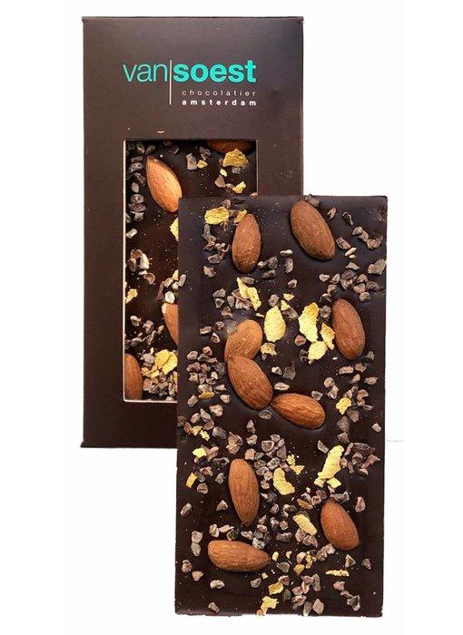 CHOCOLATE BAR DARK ALMOND COCOA NIBS