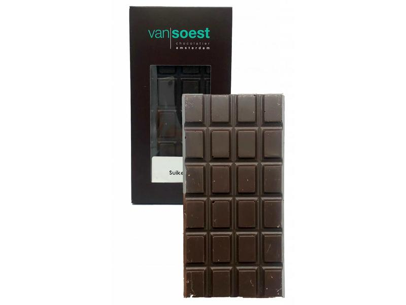 SUGAR FREE CHOCOLATE BAR SWEETENED WITH STEVIA