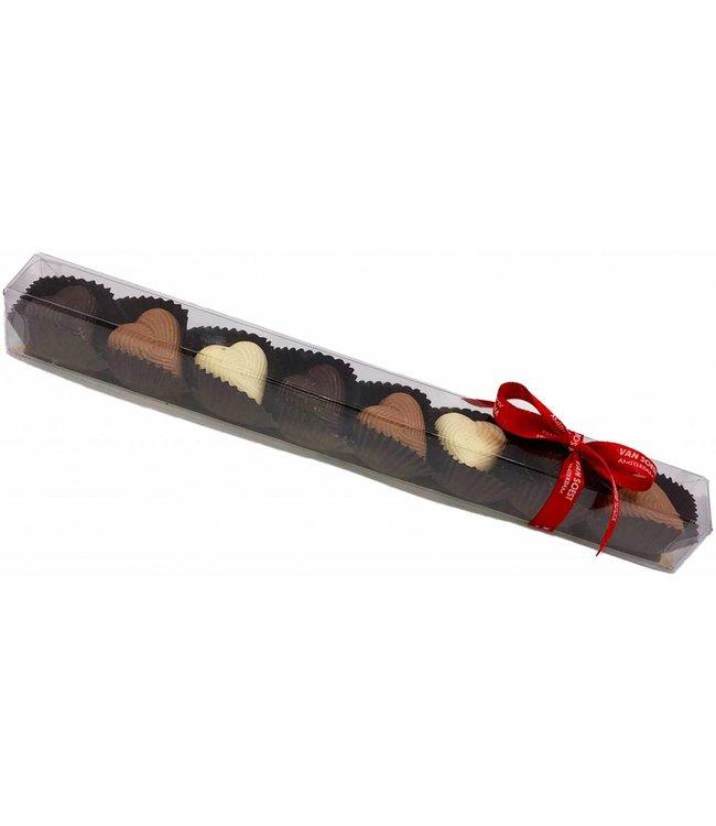 CHOCOLATE PRALINE HEARTS