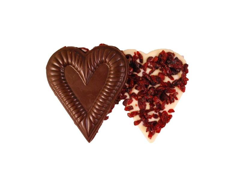 HEART SMALL WITH CRANBERRIES