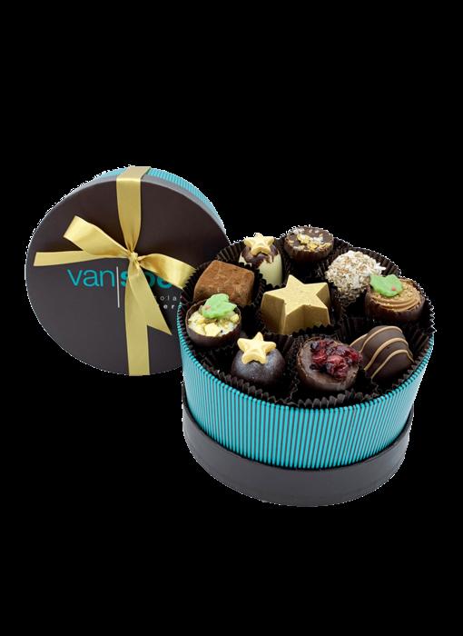 LUXURY BOX WITH CHRISTMAS CHOCOLATES