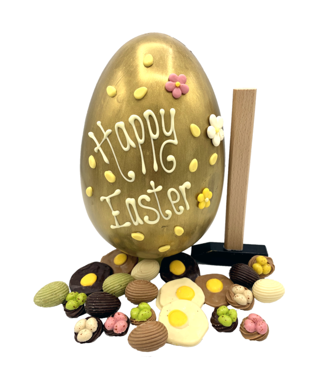 EASTER EGG WITH HAMMER