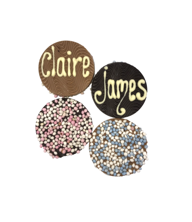 CHOCOLATES WITH NAME