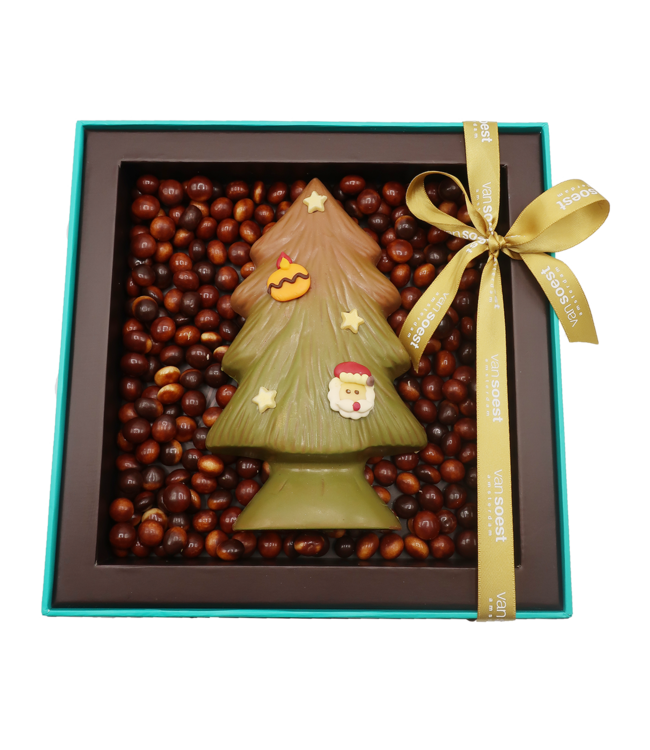 CHRISTMAS TREE FILLED WITH PRALINE