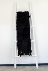 Zwart Bonte Shawl