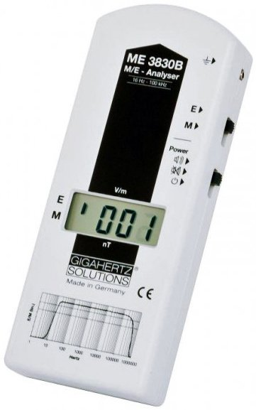 Gigahertz Solutions ME3830B Laag Frequentie Stralingsmeter