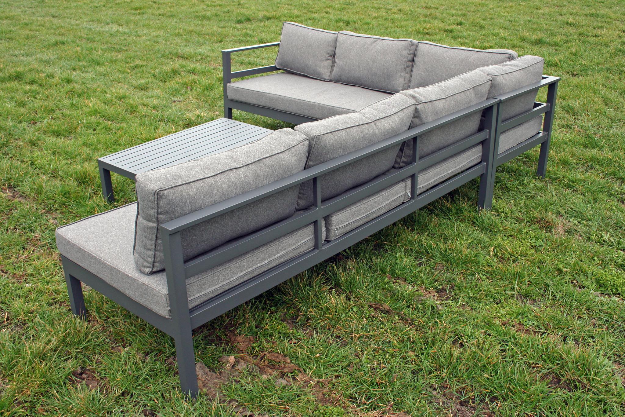Aluminium Loungeset Verstelbaar