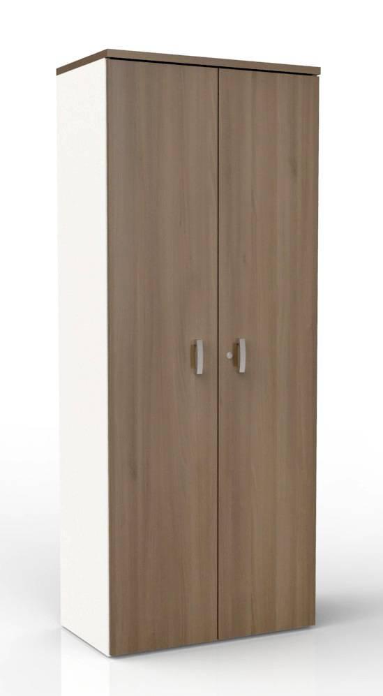 Draaideurkast Melamine H197 cm