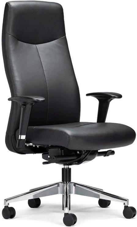 Luxe Leren Bureaustoel.Directiefauteuil Bravo Osby Kantoormeubelen