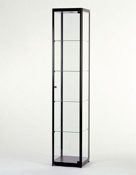 Glazen Vitrinekast H200 x B40 x D40 cm