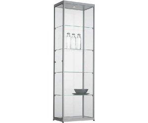 Vitrine Kast Goedkoop.Glazen Vitrinekast H200 X B60 X D40 Cm