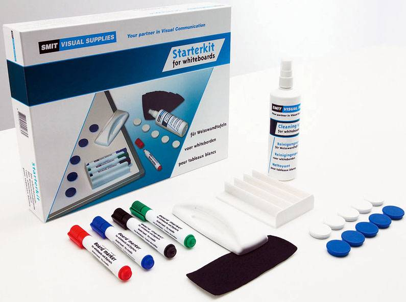 SMIT VISUAL SUPPLIES Whiteboard Kit Starter