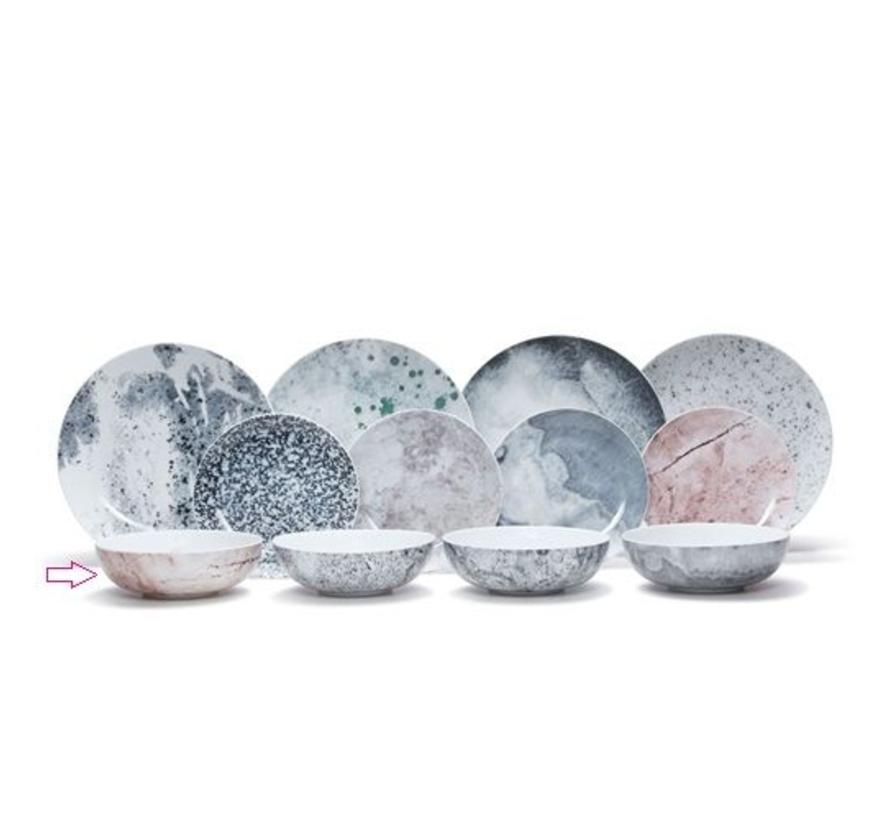 Salt En Pepper Servies.New Masonry Deep Plate Soup Bowl Sp44929 Salt Pepper