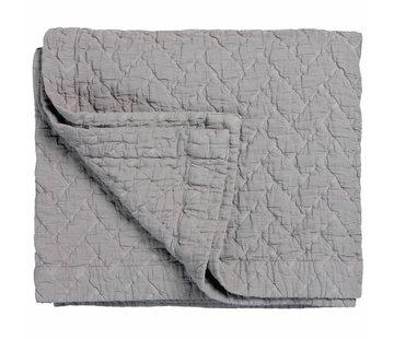 Vandyck PURE 10 sengetæppe / pudebetræk Stål Grå (bomuld)