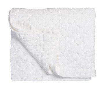 Vandyck PURE 10 plaid/bedspread 180x260 cm White (cotton)
