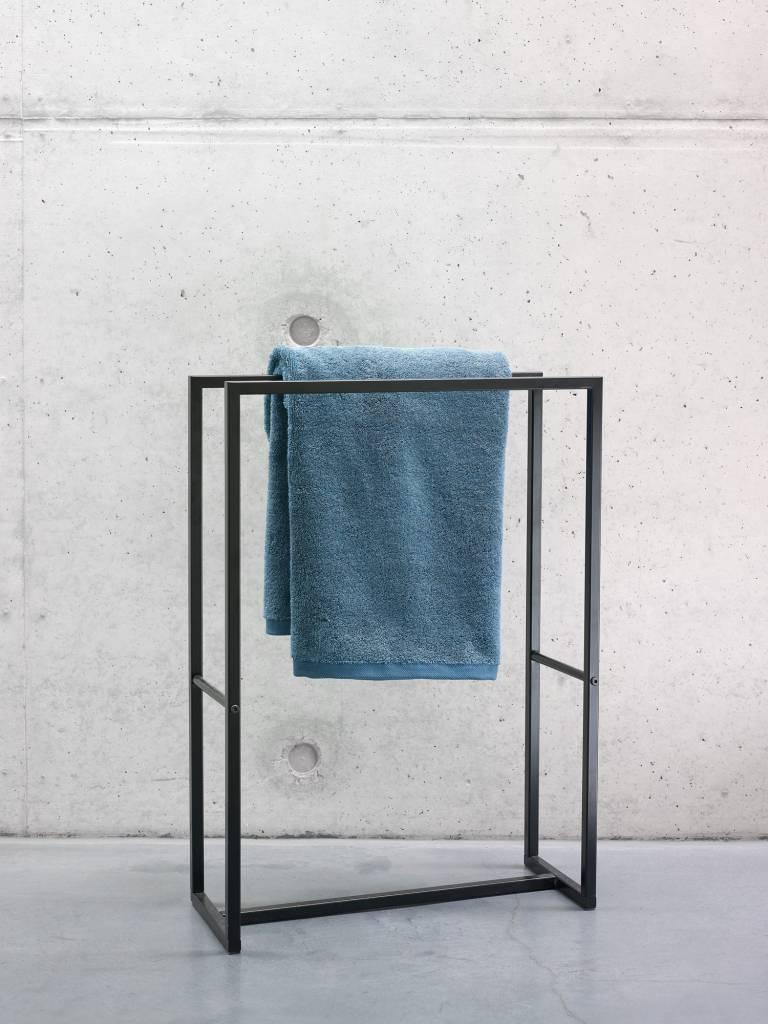 AQUANOVA Handtuchhalter ARAN 50 cm Höhe 70 cm Farbe schwarz