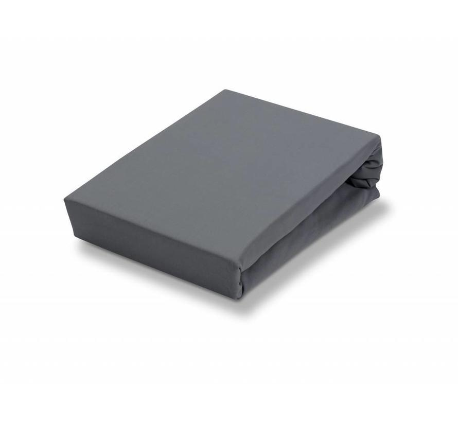 2 Topper Spannbettlaken Spannbetttuch schwarz 140x200 cm 160x200 cm Jersey Set