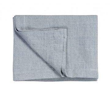 Vandyck PURE 11 sengetæppe / pudebetræk Faded Denim-184 (bomuld / linned)