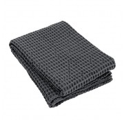 Blomus Bath towel CARO 70x140 cm Magnet (dark gray)