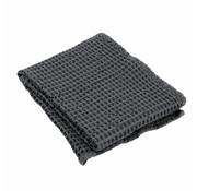 Blomus Towel CARO 50x100 cm Magnet (dark gray)