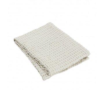 Blomus Towel CARO 50x100 cm Moonbeam (light stone)