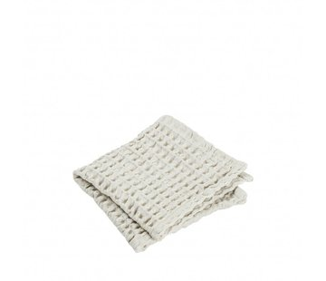 Blomus Gastendoek (set/2) CARO 30x30 cm Moonbeam (light stone)