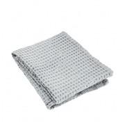 Blomus Handtuch CARO 50x100 cm Microchip (hellgrau)
