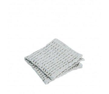 Blomus Toalla de invitados (set / 2) Micro Chip CARO 30x30 cm (gris claro)