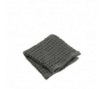 Blomus Guest towel (set / 2) CARO 30x30 cm Agave Green (olive green)