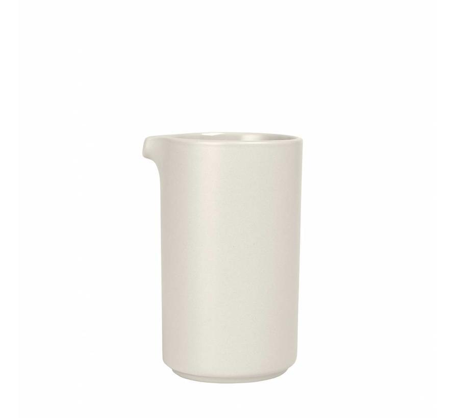MIO krukke (0,5 liter) Mønsterbjælke, lys sten (63701)