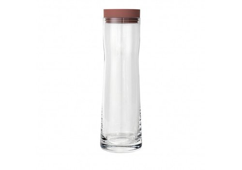 BLOMUS SPLASH water carafe (1 liter) Withered Rose