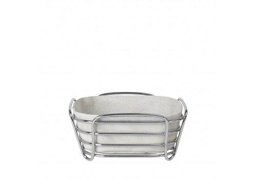 BLOMUS DELARA bread basket 20cm (Moonbeam)