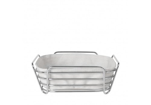 BLOMUS DELARA bread basket 25cm (Moonbeam)