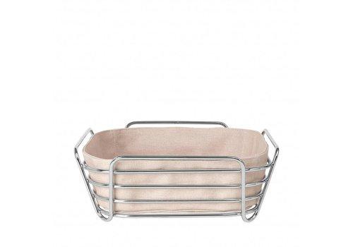 BLOMUS DELARA bread basket 25cm (Rose Dust)