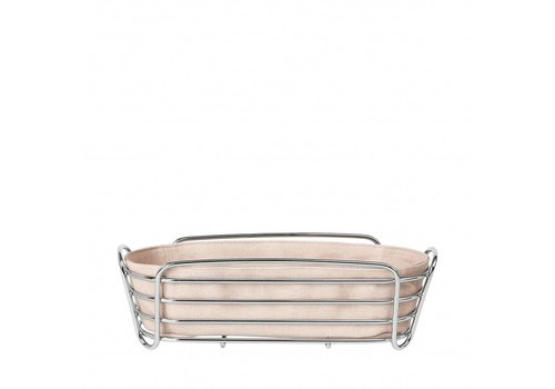 BLOMUS DELARA bread basket 32cm (Rose Dust)