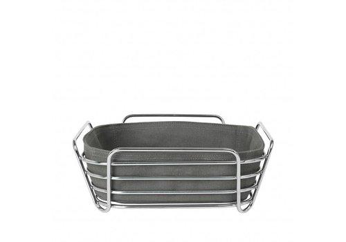 BLOMUS DELARA bread basket 25cm (Agave Green)