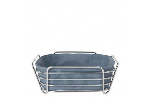 BLOMUS DELARA bread basket 25cm (Flint Stone)