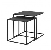 Blomus FERA side table black powder coated (set / 2)