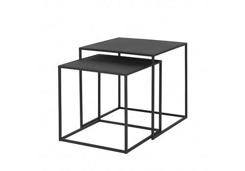 BLOMUS FERA side table black powder coated (set / 2)