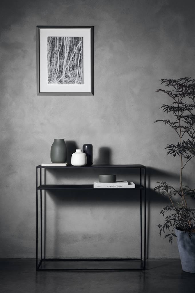 blomus fera konsolentisch 65751 schwarz. Black Bedroom Furniture Sets. Home Design Ideas