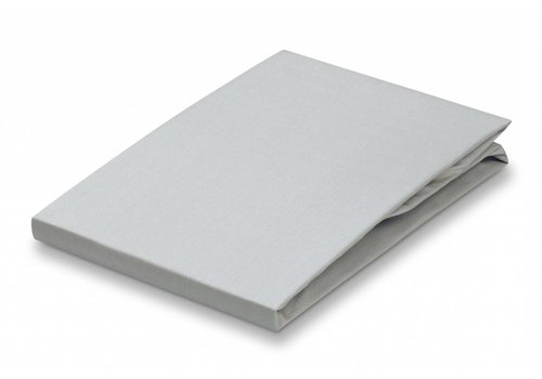 Vandyck Fitted Sheet Silver Gray-088 (percale cotton)