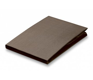 Vandyck Monteret plade Taupe-017 (percale bomuld)